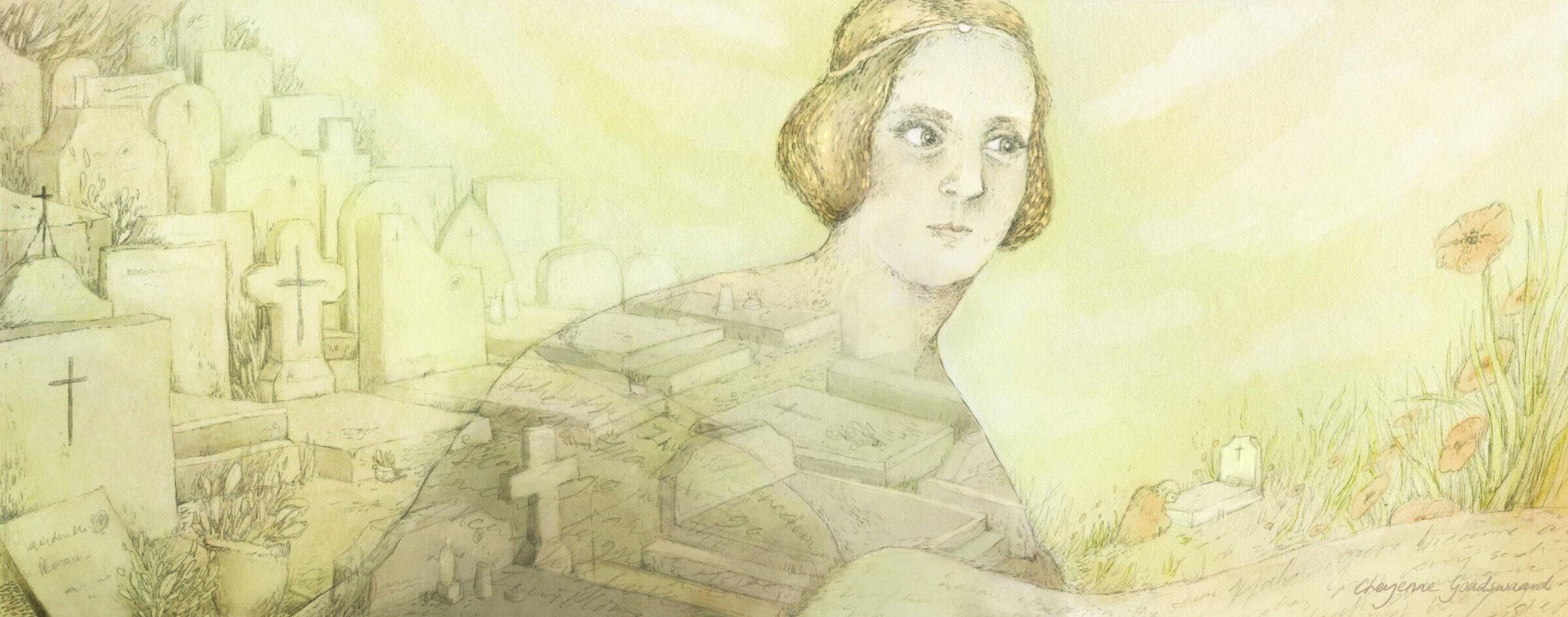 Mary Shelley: tussen boeken en graven